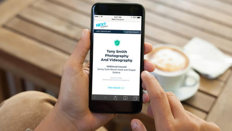 Introducing Live Certificate: The New, Instant Proof of Insurance for Next Insurance Customers