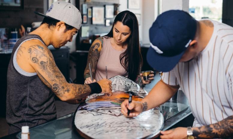 Black Diamond Tattoo, Venice California - Built by Business - Next Insurance