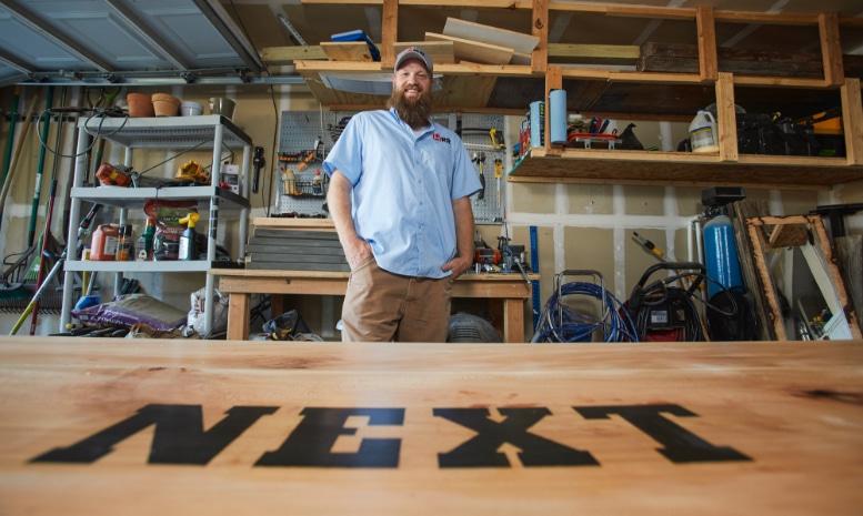 Tim Hardin owner of Hardin Handyman Services - Built By Business