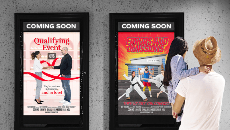 Next Flicks: We turned boring insurance terms into blockbuster movies