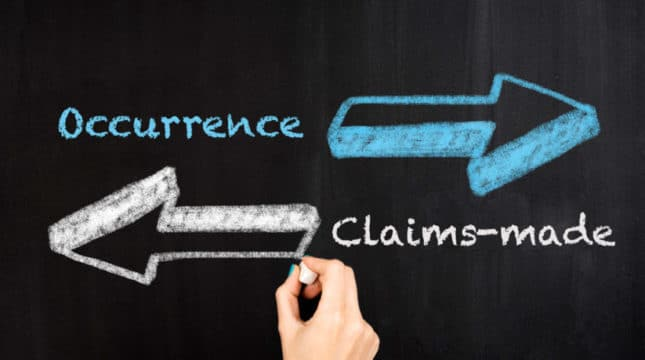 Small Business Insurance Basics: Insurance Coverage Triggers – Occurrence vs Claims-Made
