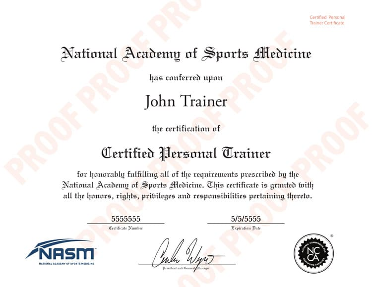 NASM Certification Review - How to become a certified NASM Trainer?