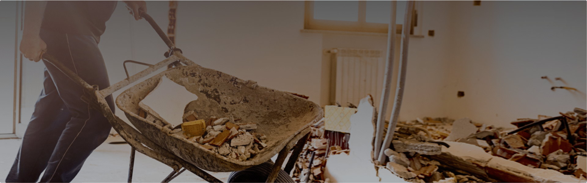 Construction site debris removal insurance