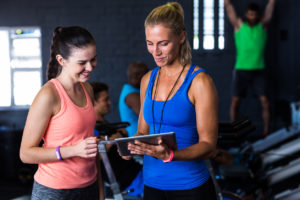 Equipment and tools for personal trainers