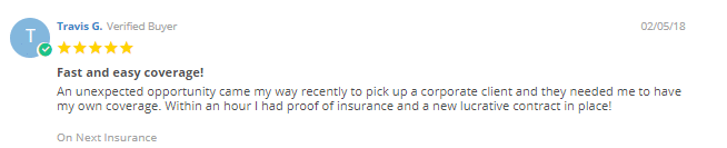 customer comment next insurance