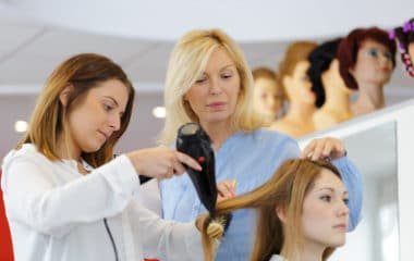 getting your hair stylist license