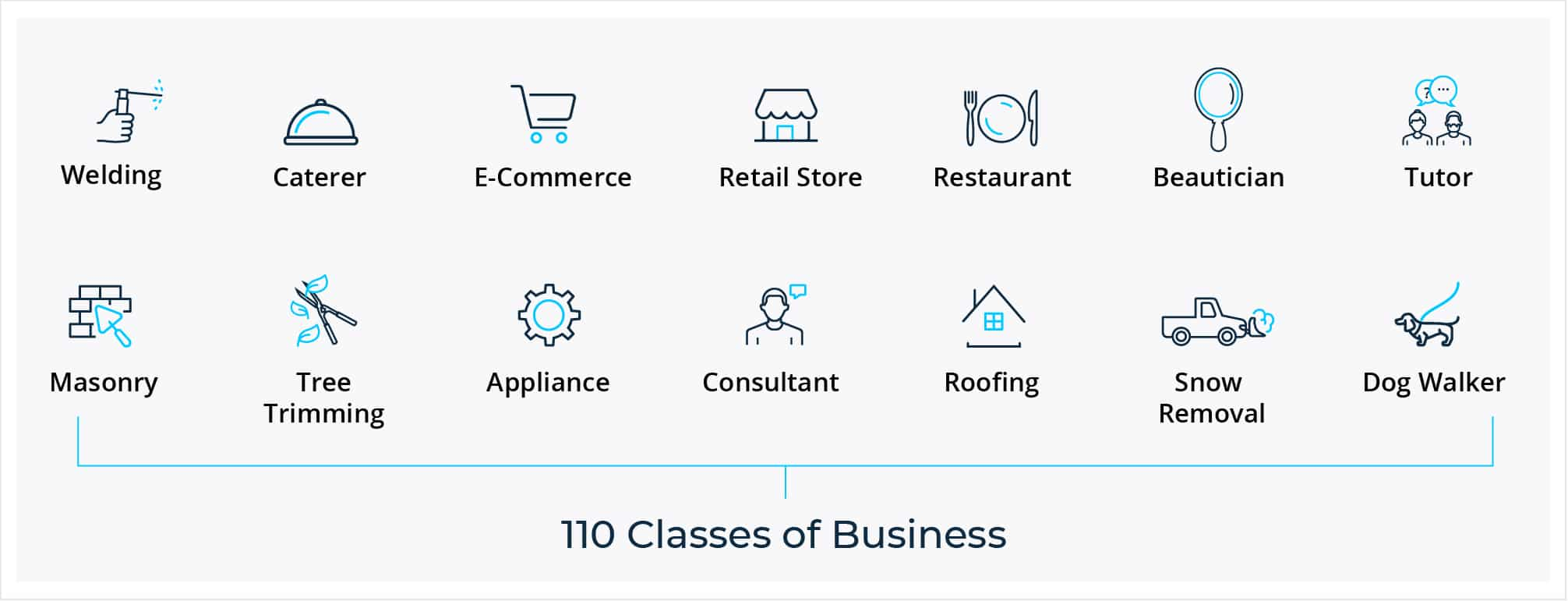 110 Classes of Business